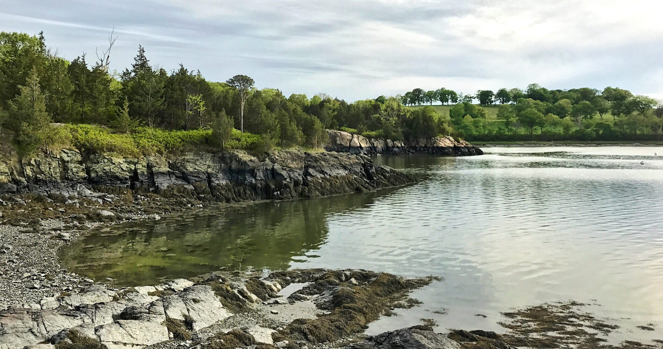 World's End shoreline