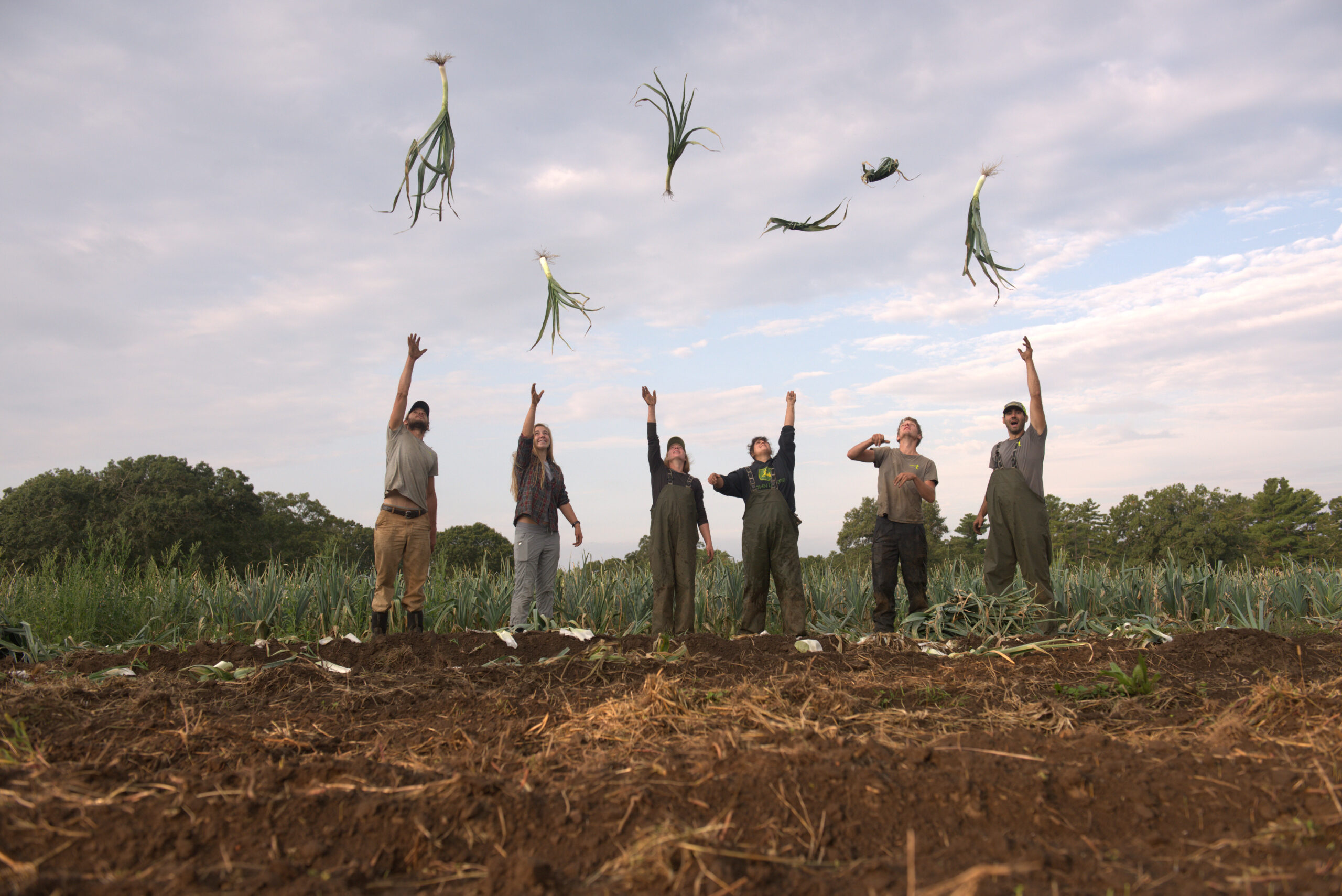 Farmers at Appleton Farms