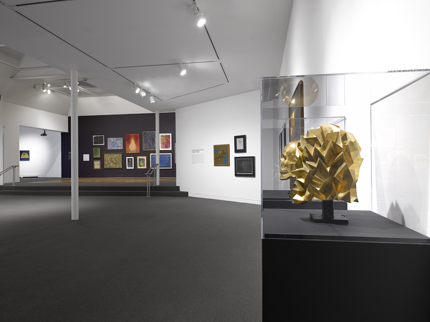 A view of the exhibit,