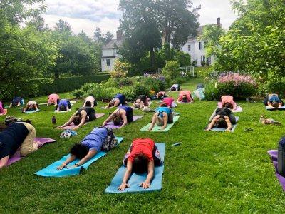 yoga at SCP