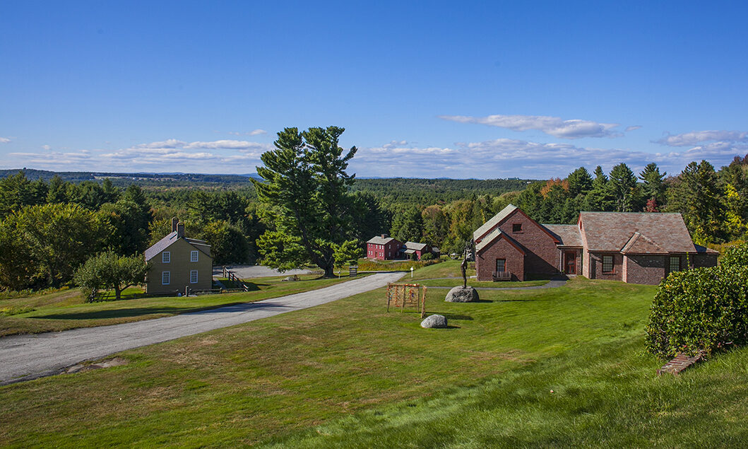 Fruitlands Museum view