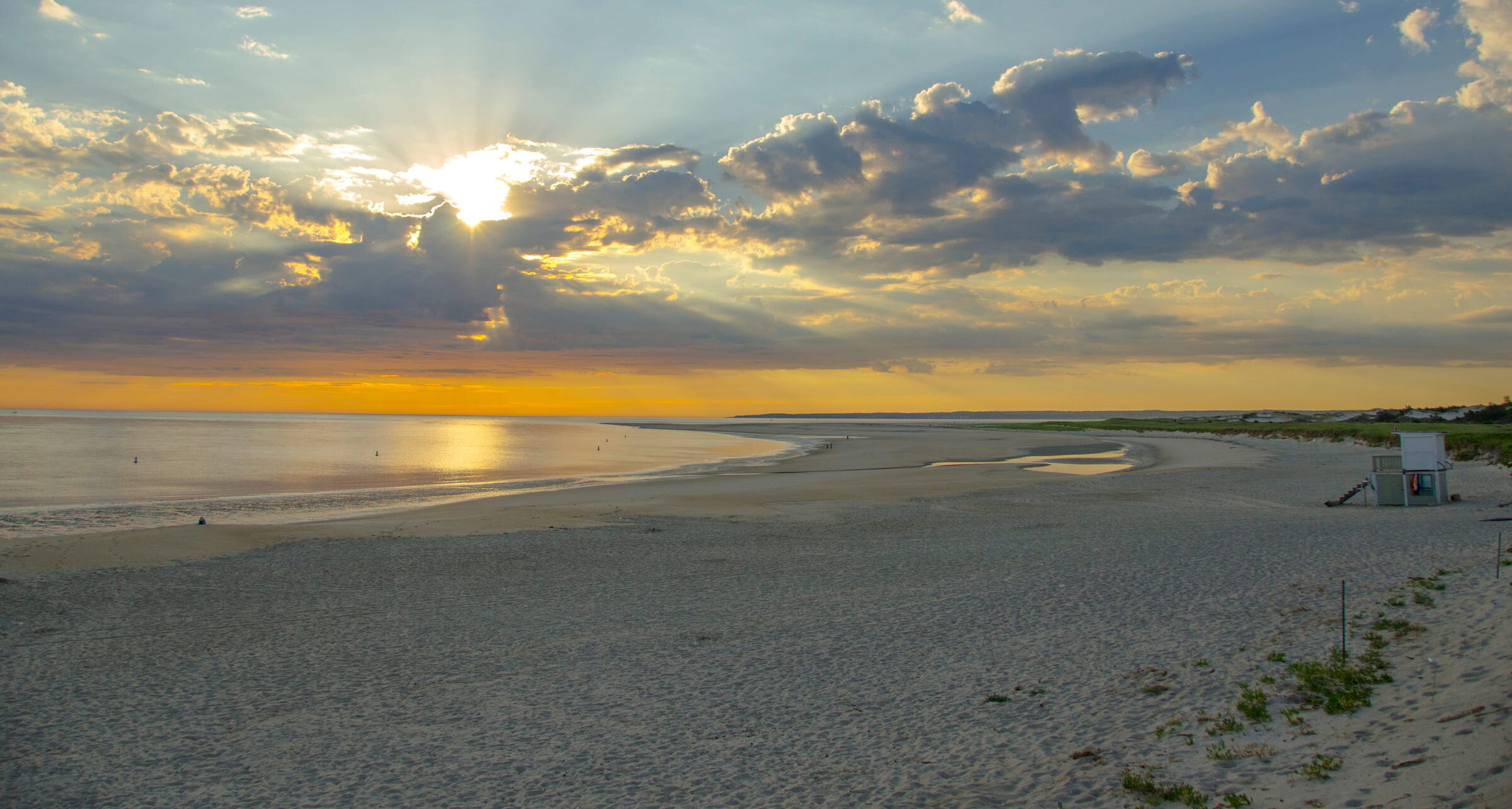 Crane Beach at dawn
