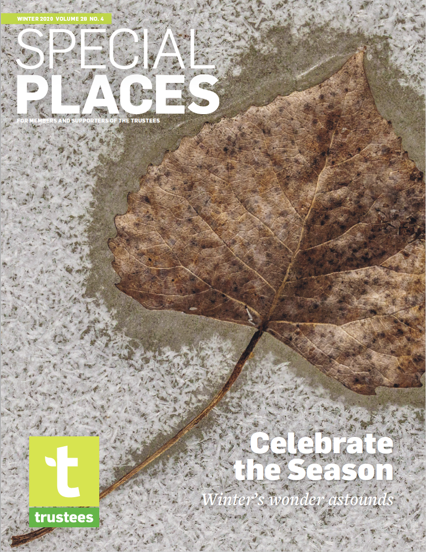 Special Places Winter 2020 cover