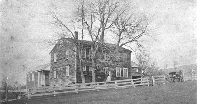 Farmhouse at Fruitlands