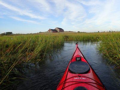 Kayaking to Choate Island