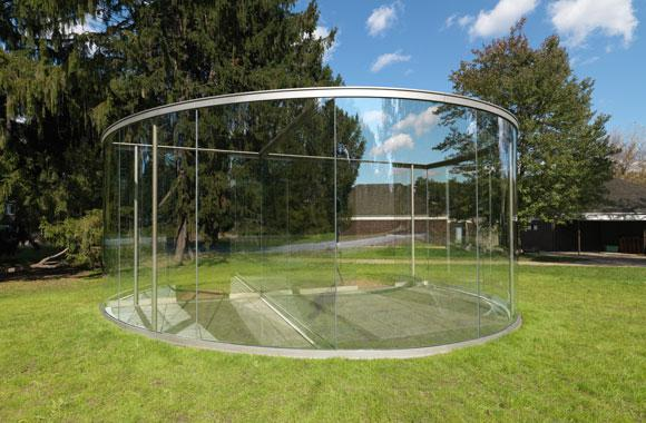 a large see through sculpture