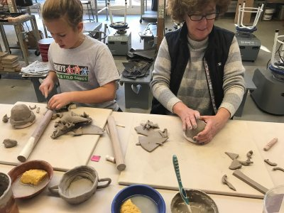 Family Clay Saturday - 7-9 year olds