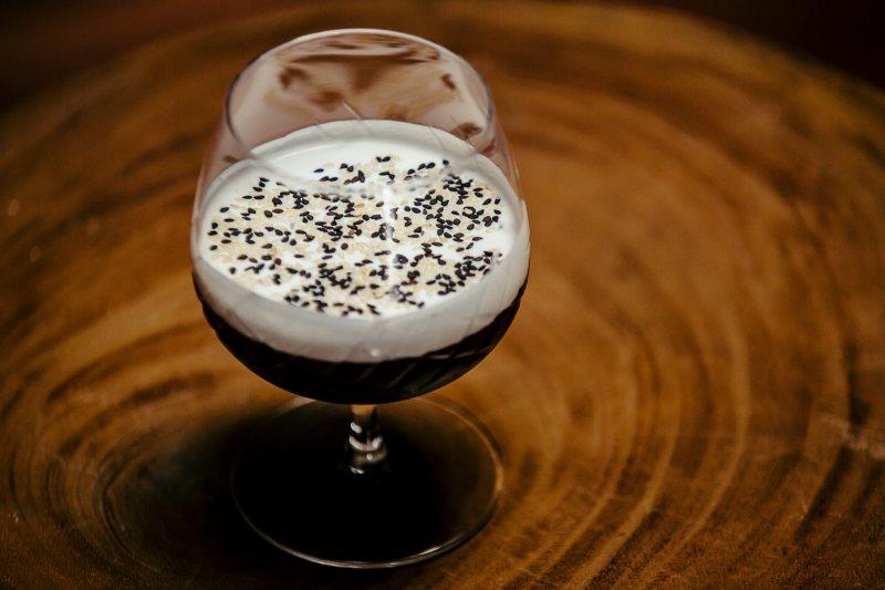 sesame cocktail