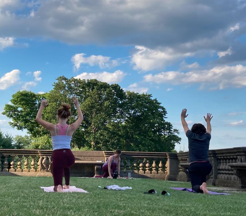yoga castle hill