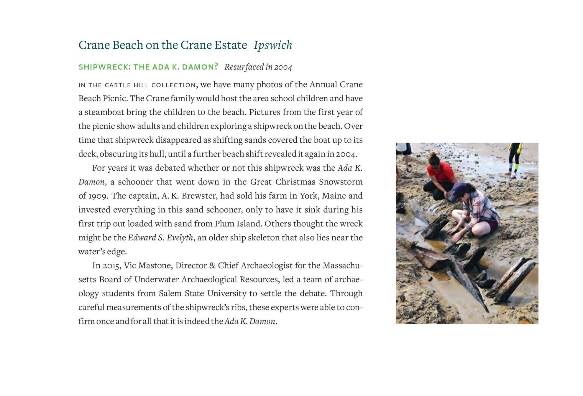 Crane Shipwreck Annual Report archives
