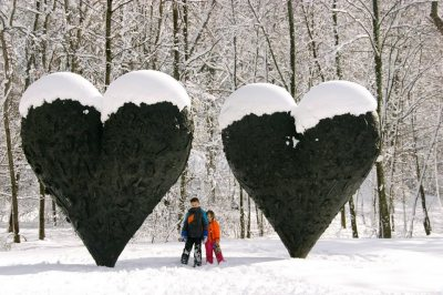 Sculpture Park Snowshoe Tours