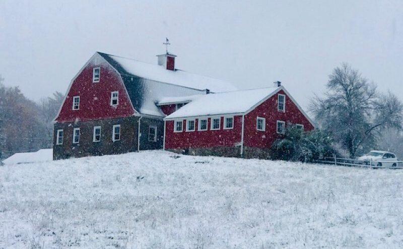 Red Barn Weir River Farm