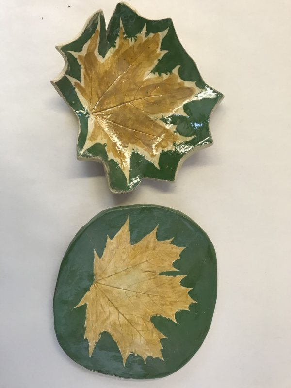 Clay Leaf Dish Workshop