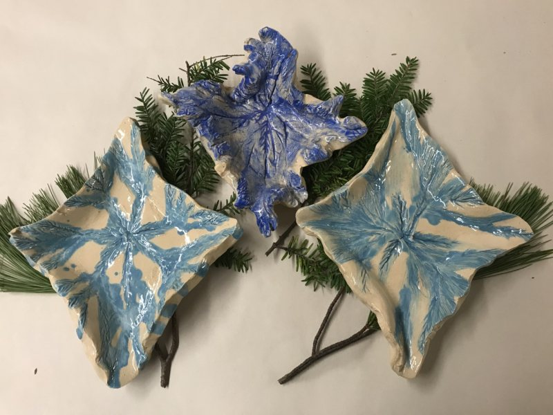 Holiday Evergreen Clay Jewelry Dish Workshop