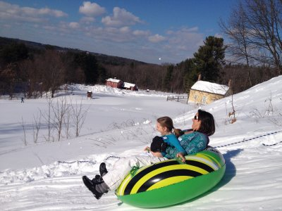 Fruitlands Sledding