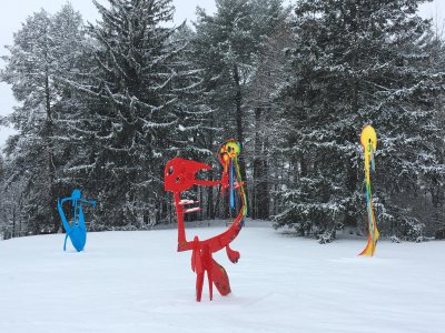 Sculpture Park Snowshoe Tours