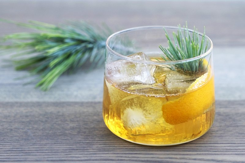 pine cocktail