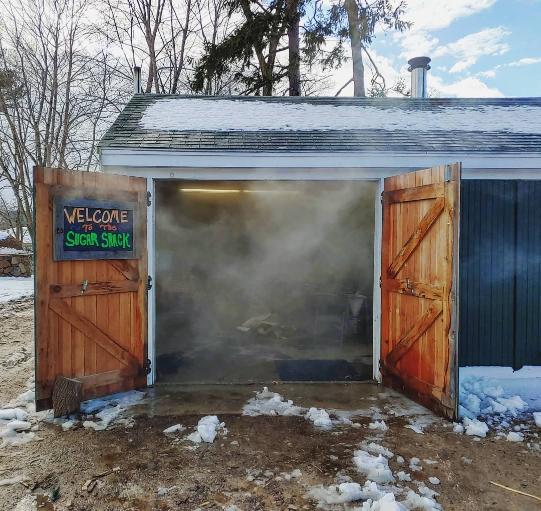 Sugar Shack at Appleton Farms in Ipswich