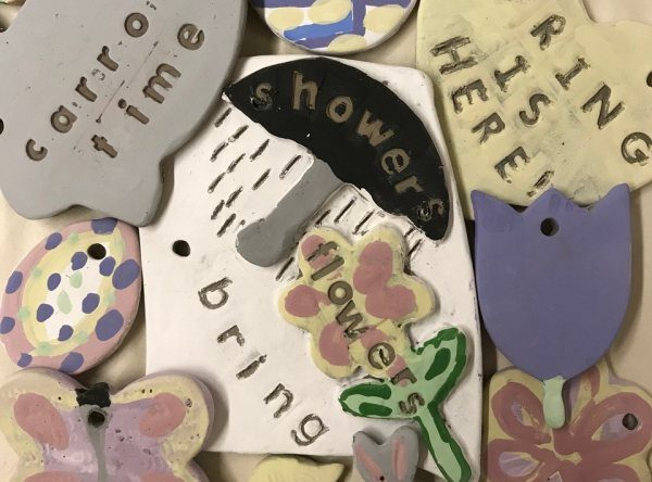 Clay Spring Chimes and Cards Workshop