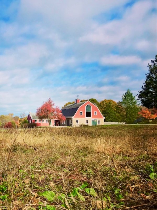 WRF red barn