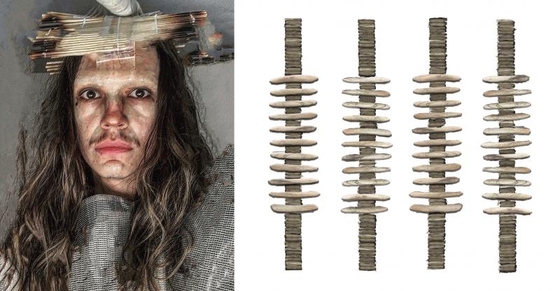 (left image) 7.20 headdress sketch (_)
