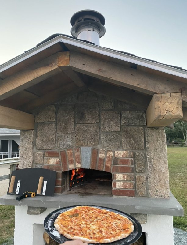 POW Pizza Oven with pizza