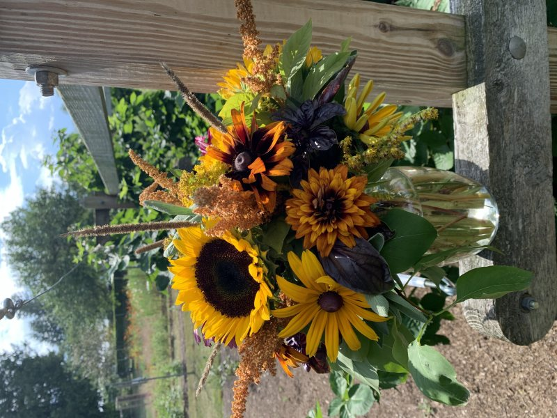 Summer sunset floral workshop