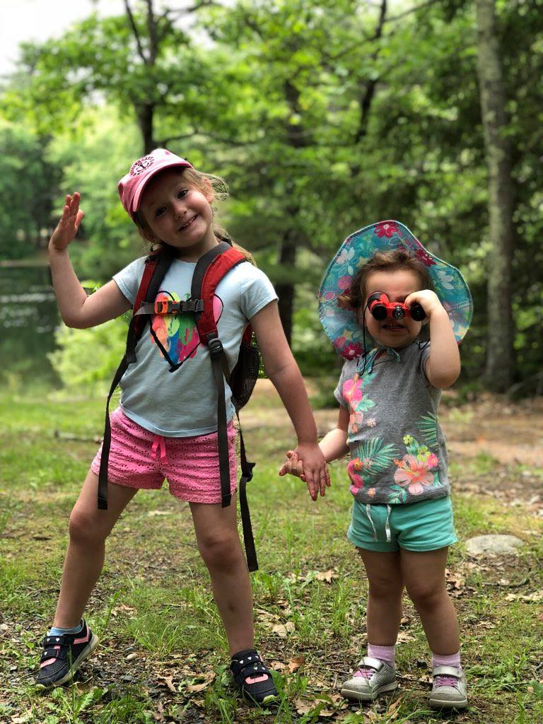 Little Hikers at Rocky Woods