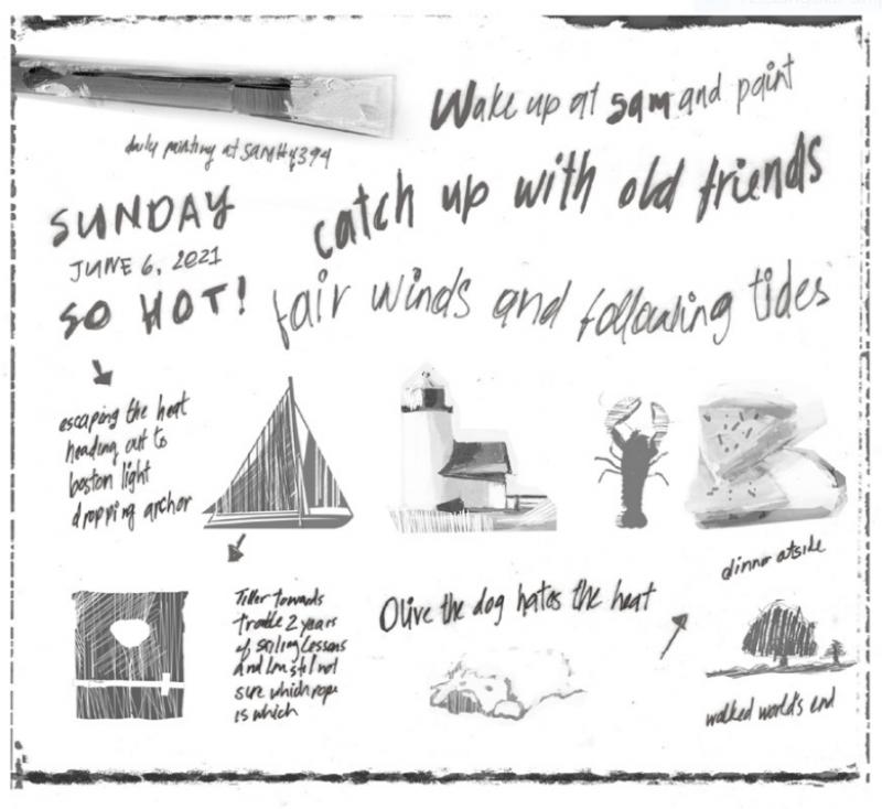 Lisa Daria Kennedy sketch
