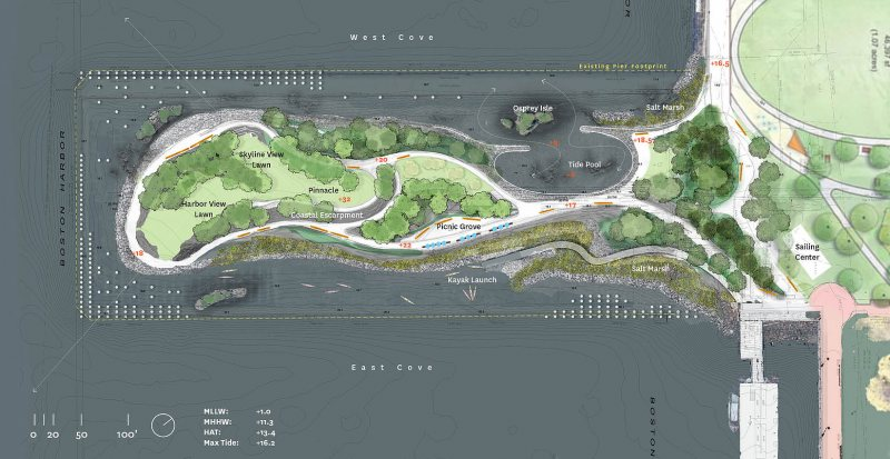 July 2021 Sky View of BWI Design