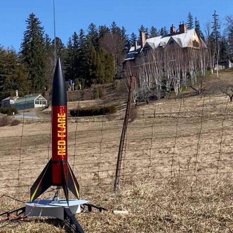 rocket at naumkeag