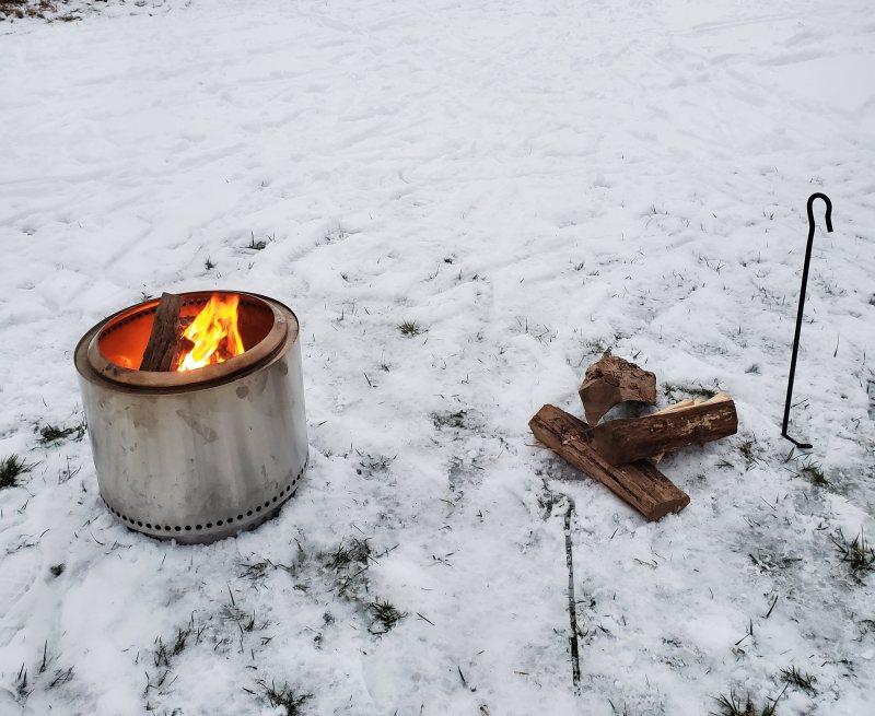 appleton winter fire