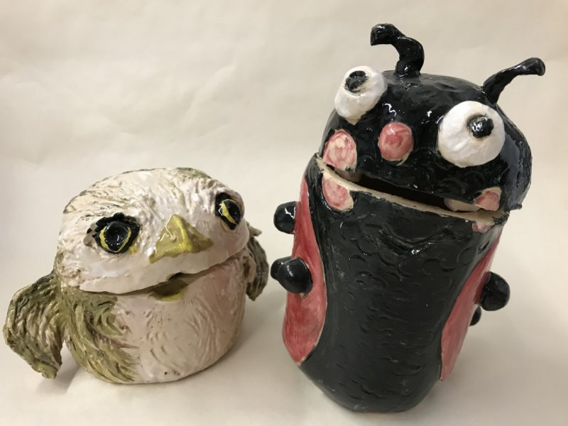 Creative Clay Canisters for Kids