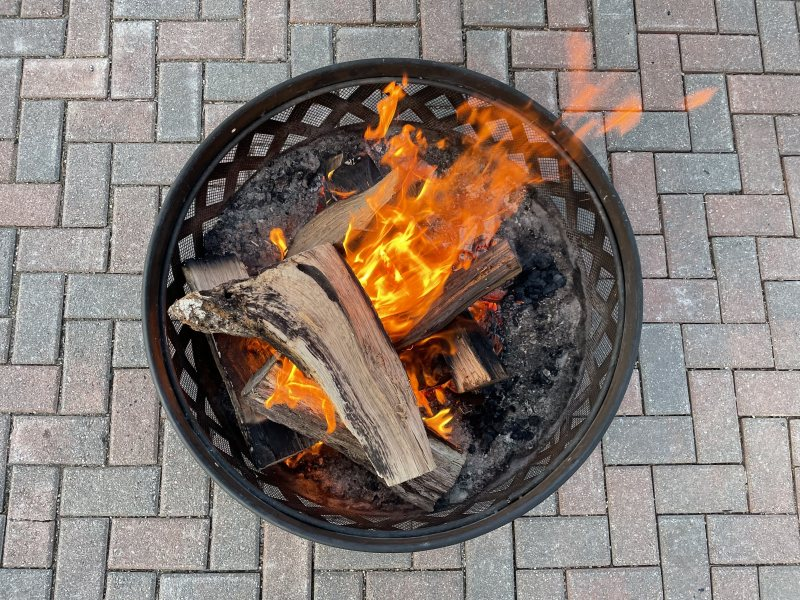 Daytime Fire Pit