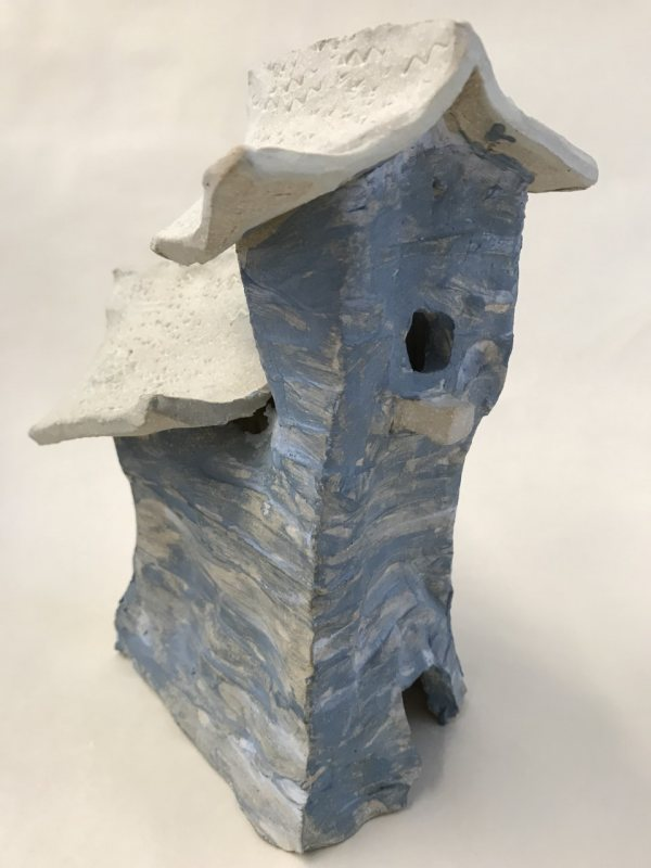 Creative Clay Halloween Houses for Parent and Child