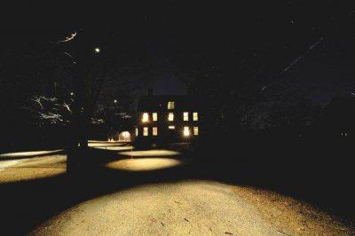 Old Manse at Night